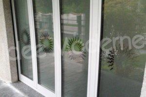 decorazione vetrine satinato e sabbiato